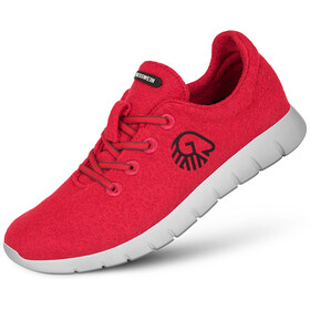 Giesswein Merino Wool Runners Men flame red